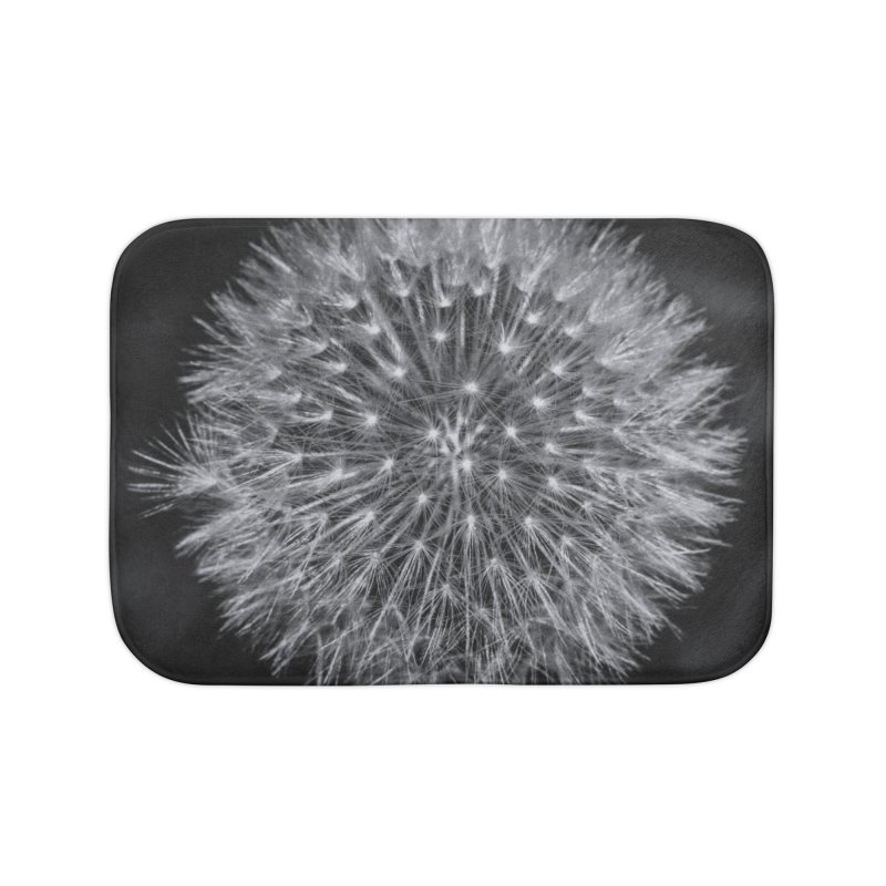 Dandelion Home Bath Mat by Gerónimo Martín Alonso Photography