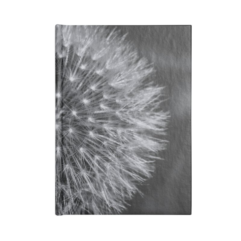 Dandelion Accessories Lined Journal Notebook by Gerónimo Martín Alonso Photography