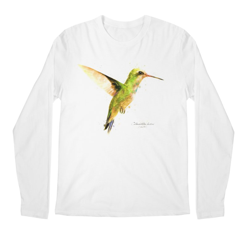 Hummingbird I Men's Regular Longsleeve T-Shirt by Gerónimo Martín Alonso Photography