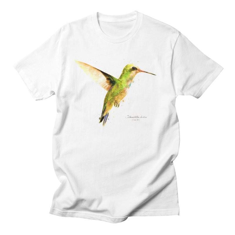 Hummingbird I Men's Regular T-Shirt by Gerónimo Martín Alonso Photography