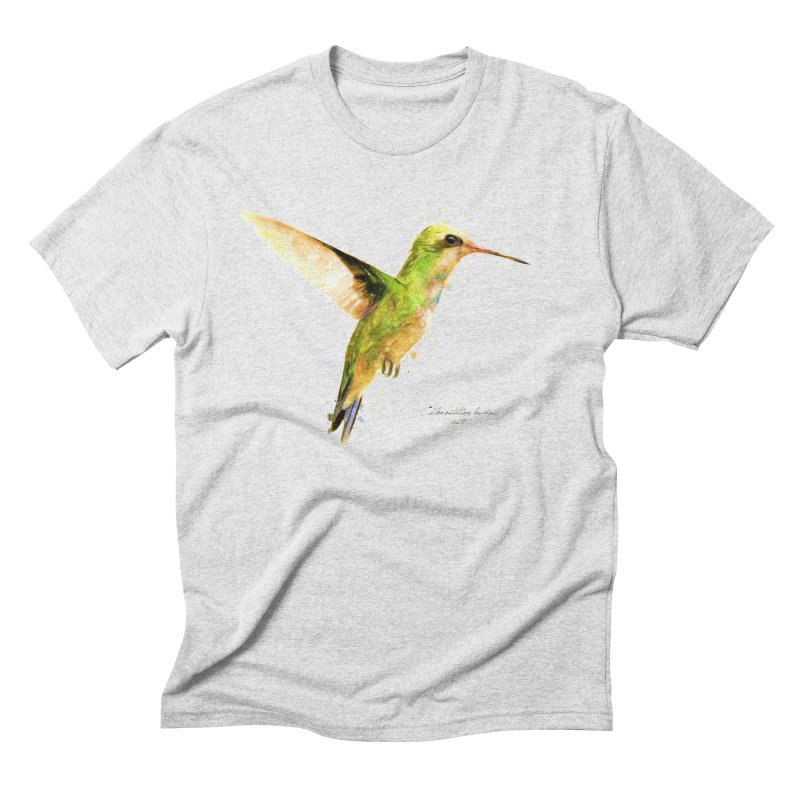 Hummingbird I Men's Triblend T-Shirt by Gerónimo Martín Alonso Photography