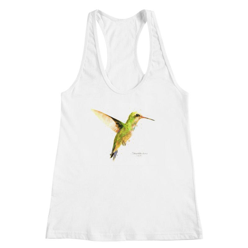 Hummingbird I Women's Tank by Gerónimo Martín Alonso Photography