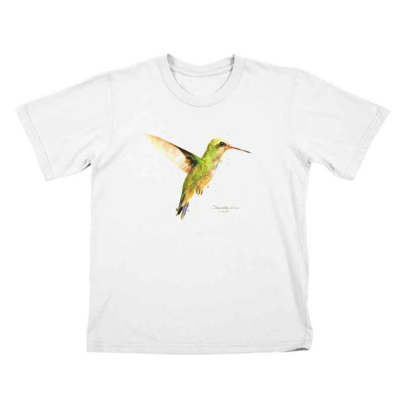 Hummingbird I Kids T-Shirt by Gerónimo Martín Alonso Photography