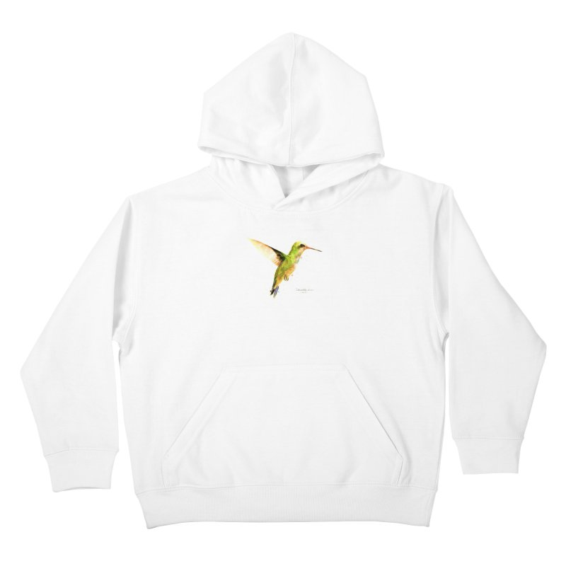Hummingbird I Kids Pullover Hoody by Gerónimo Martín Alonso Photography