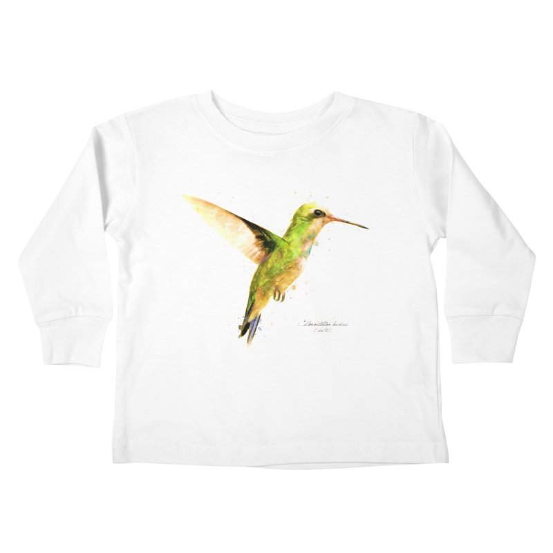 Hummingbird I Kids Toddler Longsleeve T-Shirt by Gerónimo Martín Alonso Photography