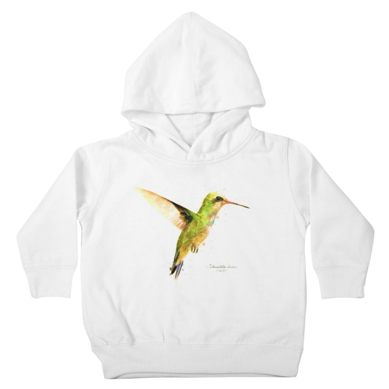 Hummingbird I Kids Toddler Pullover Hoody by Gerónimo Martín Alonso Photography
