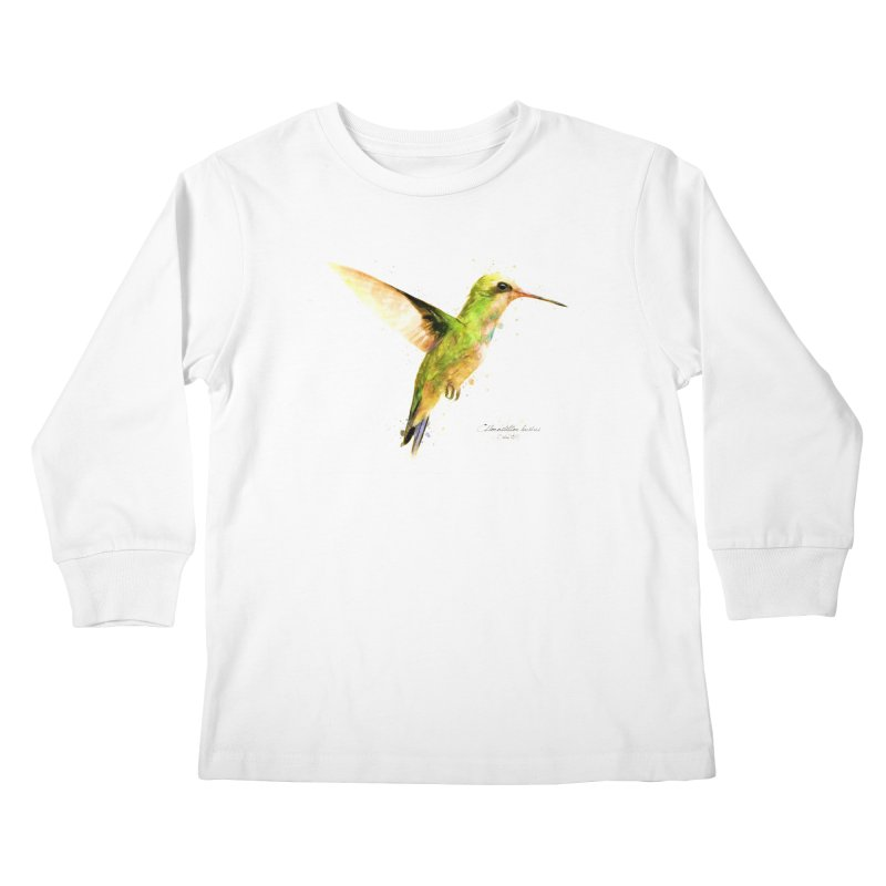 Hummingbird I Kids Longsleeve T-Shirt by Gerónimo Martín Alonso Photography