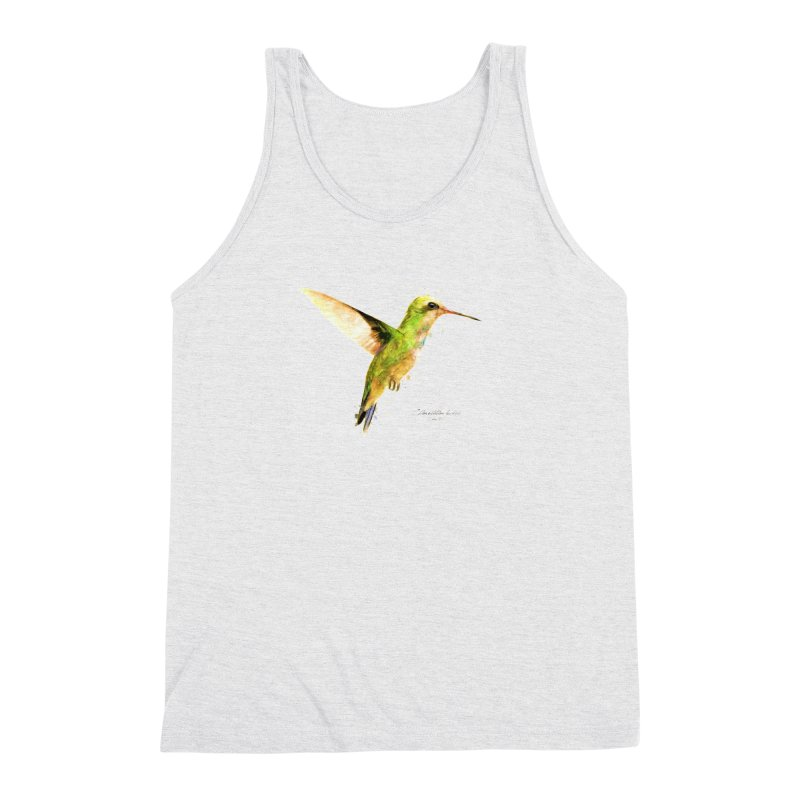 Hummingbird I Men's Triblend Tank by Gerónimo Martín Alonso Photography
