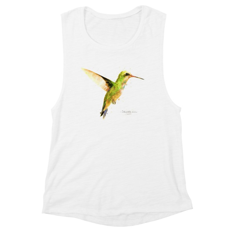 Hummingbird I Women's Muscle Tank by Gerónimo Martín Alonso Photography