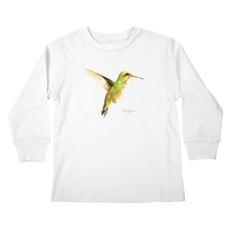 Hummingbird I Kids Longsleeve T-Shirt by Gerónimo Martín Alonso Photography