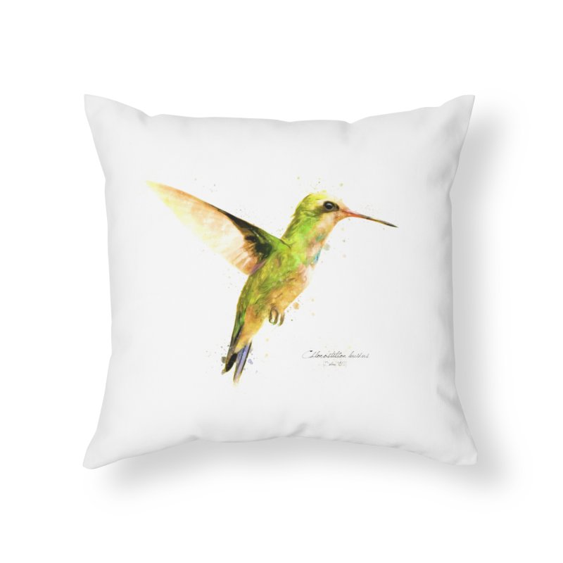 Hummingbird I Home Throw Pillow by Gerónimo Martín Alonso Photography
