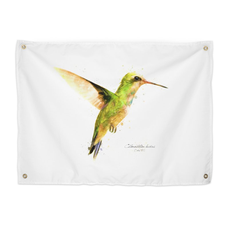 Hummingbird I Home Tapestry by Gerónimo Martín Alonso Photography