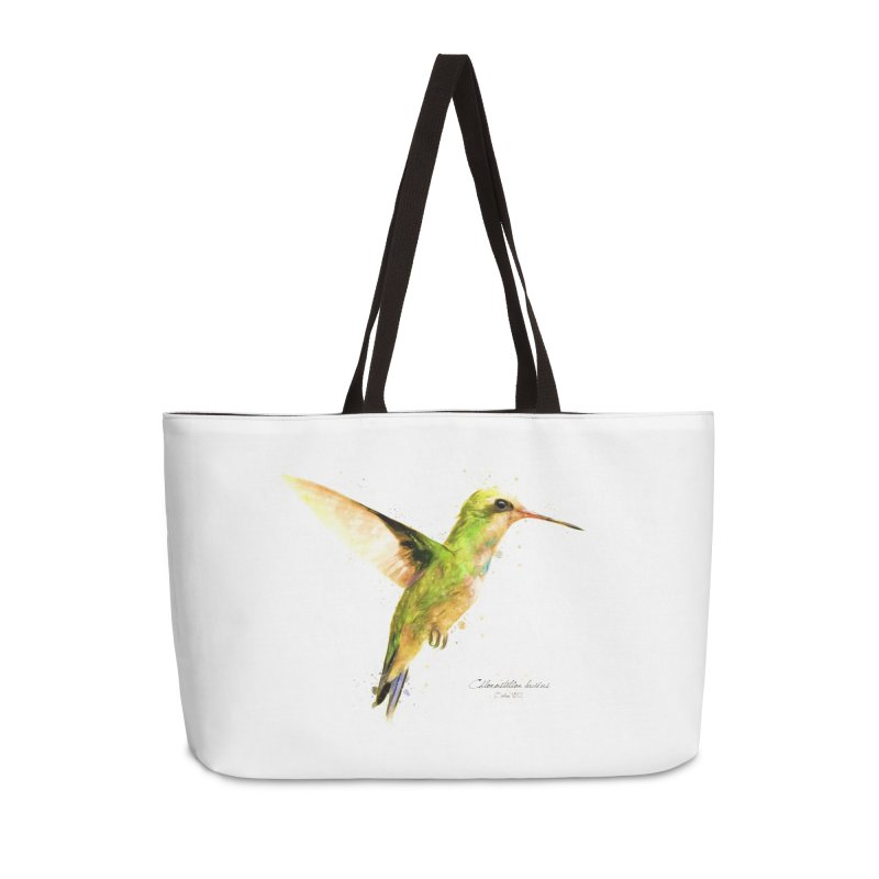 Hummingbird I Accessories Weekender Bag Bag by Gerónimo Martín Alonso Photography
