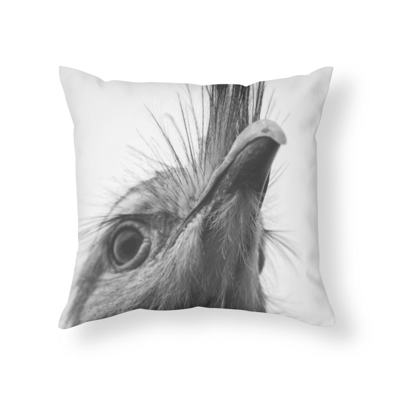 Seriema I Home Throw Pillow by Gerónimo Martín Alonso Photography