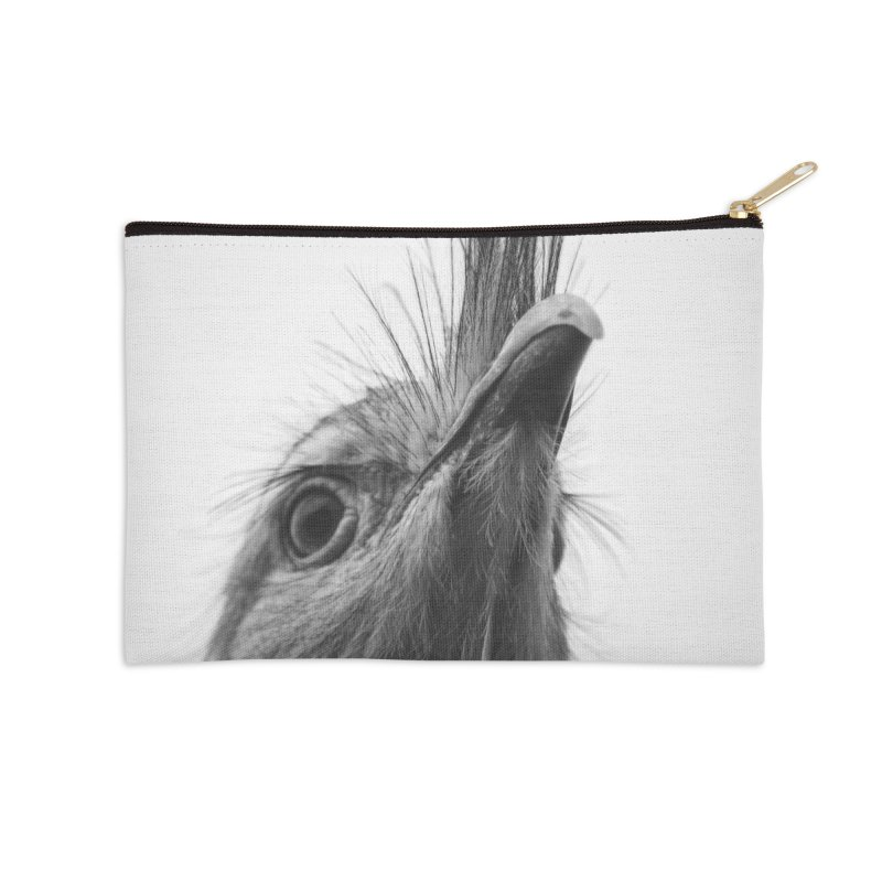 Seriema I Accessories Zip Pouch by Gerónimo Martín Alonso Photography