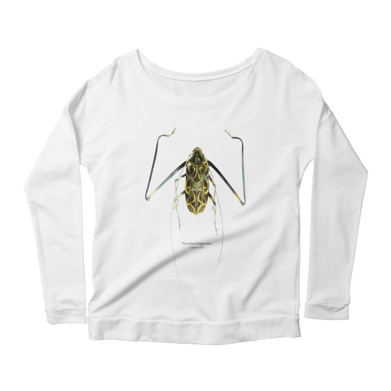 Acrocinus II Women's Scoop Neck Longsleeve T-Shirt by Gerónimo Martín Alonso Photography