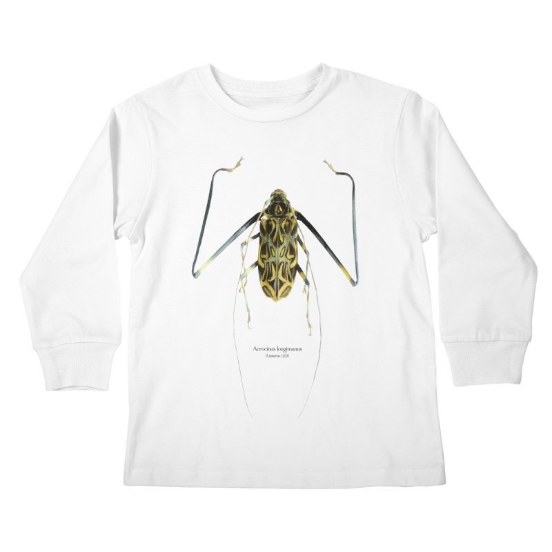 Acrocinus II Kids Longsleeve T-Shirt by Gerónimo Martín Alonso Photography