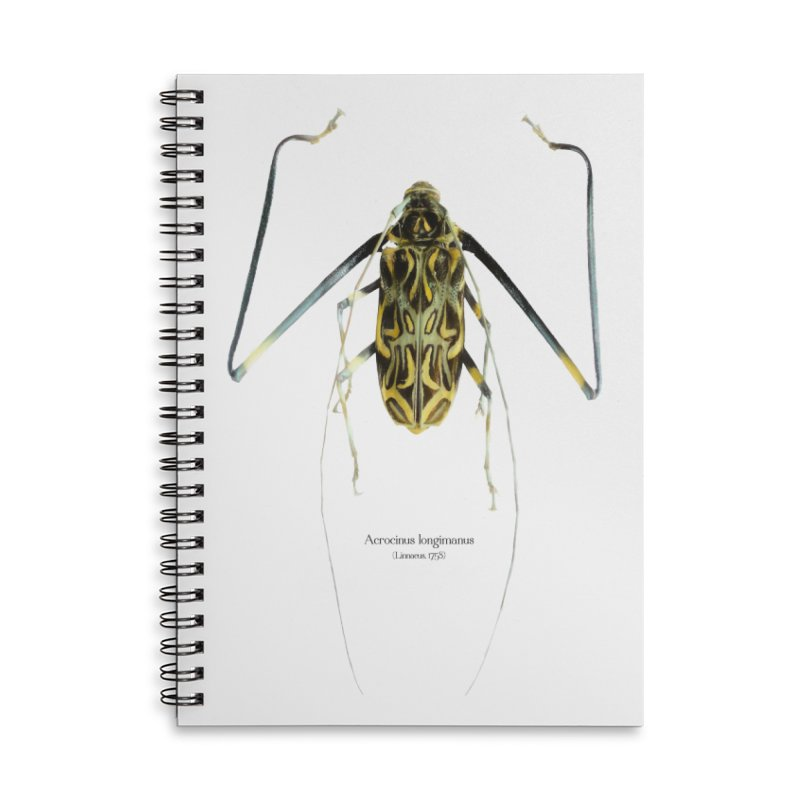 Acrocinus II Accessories Lined Spiral Notebook by Gerónimo Martín Alonso Photography
