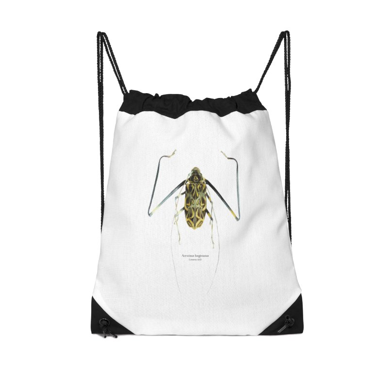 Acrocinus II Accessories Drawstring Bag Bag by Gerónimo Martín Alonso Photography