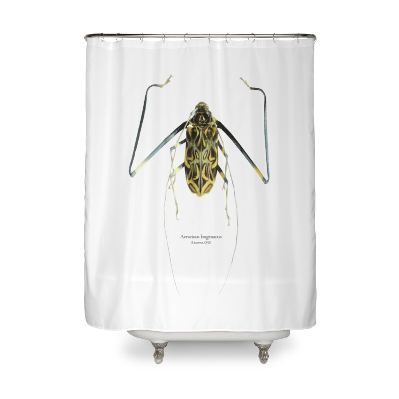 Acrocinus II Home Shower Curtain by Gerónimo Martín Alonso Photography