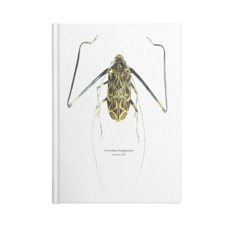 Acrocinus II Accessories Lined Journal Notebook by Gerónimo Martín Alonso Photography