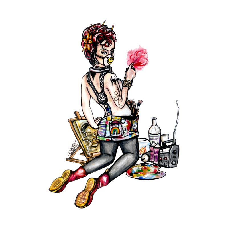 Artsy Pinup  by gnarlyart's Artist Shop