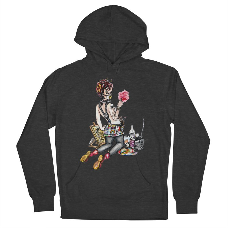 Artsy Pinup  Women's Pullover Hoody by gnarlyart's Artist Shop