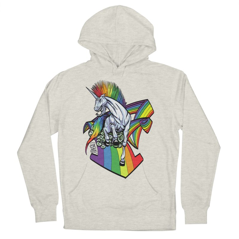 RainbowConnection Women's Pullover Hoody by gnarlyart's Artist Shop