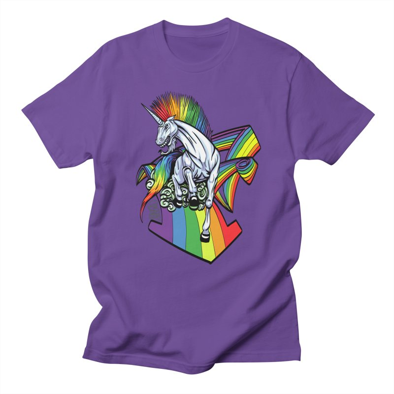 RainbowConnection Men's T-Shirt by gnarlyart's Artist Shop