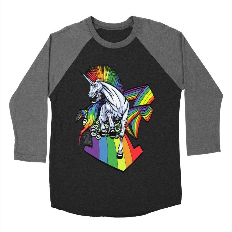 RainbowConnection Women's Baseball Triblend T-Shirt by gnarlyart's Artist Shop