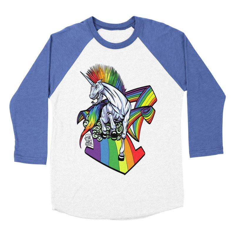 RainbowConnection Men's Baseball Triblend T-Shirt by gnarlyart's Artist Shop