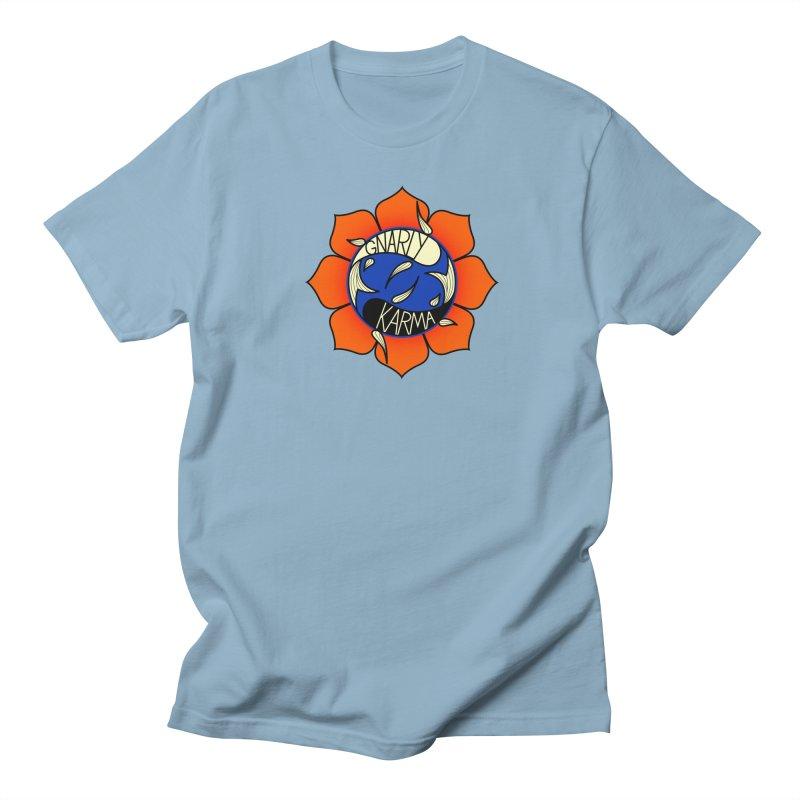 Gnarly Logo on Everyday Shirts Women's Regular Unisex T-Shirt by Gnarly Karma's Merch Shop