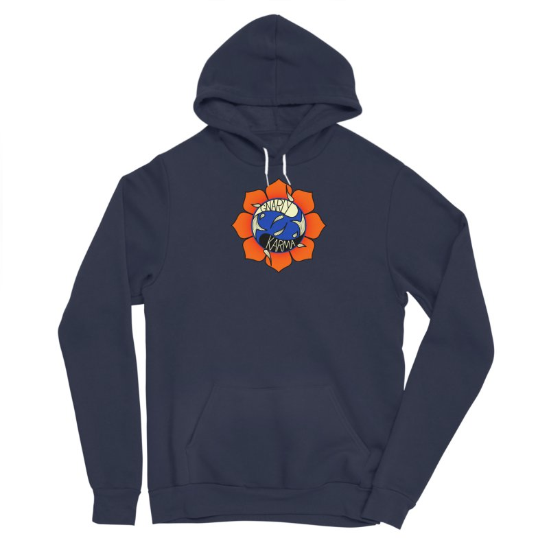 Gnarly Logo on Sweatshirts & Hoodies Women's Sponge Fleece Pullover Hoody by Gnarly Karma's Merch Shop