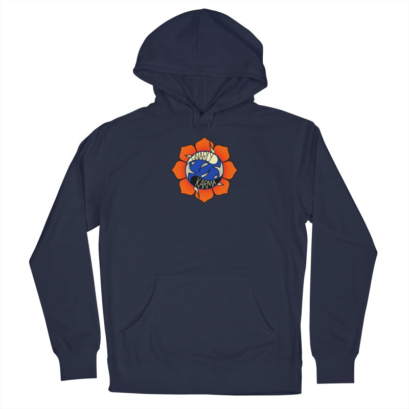 Gnarly Logo on Sweatshirts & Hoodies Men's French Terry Pullover Hoody by Gnarly Karma's Merch Shop