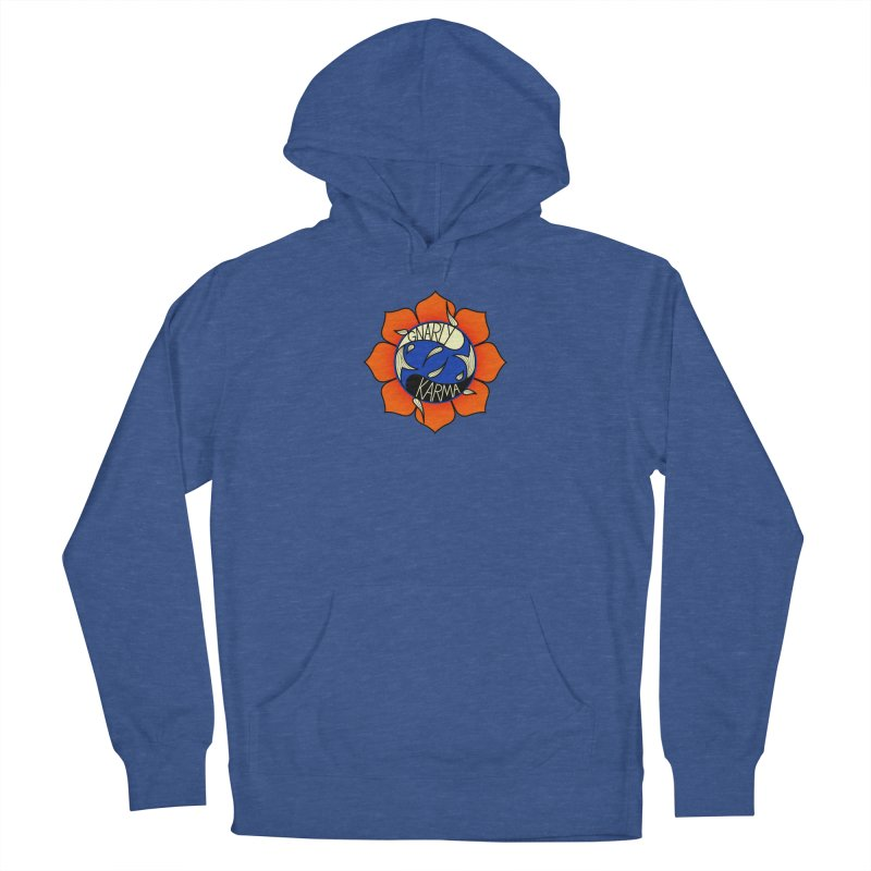 Gnarly Logo on Sweatshirts & Hoodies Women's French Terry Pullover Hoody by Gnarly Karma's Merch Shop