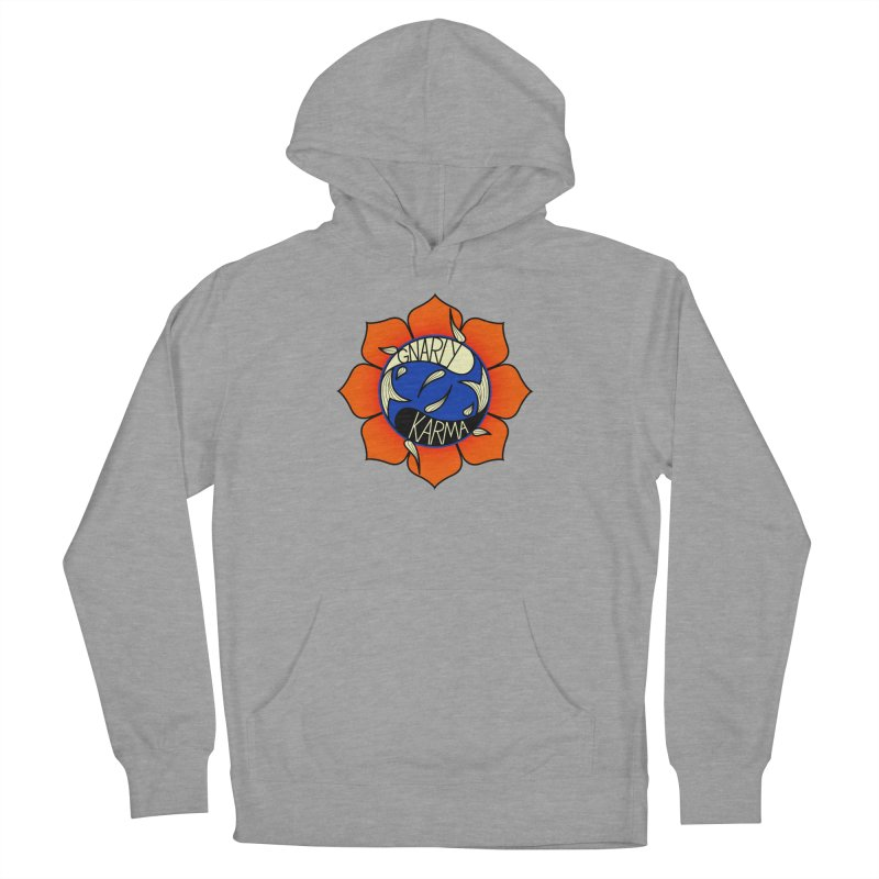 Gnarly Logo on Sweatshirts & Hoodies Women's Pullover Hoody by Gnarly Karma's Merch Shop