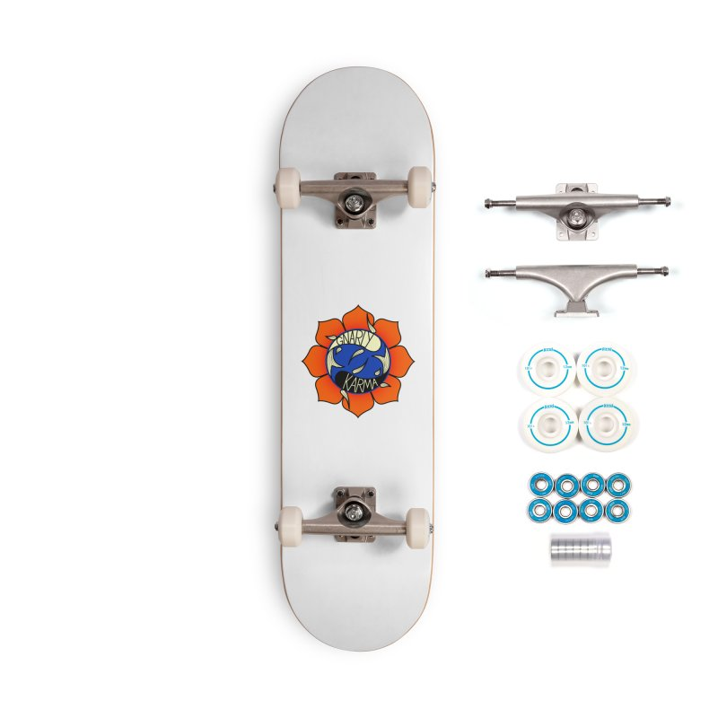 Gnarly Logo on Accessories & Other Merch Accessories Complete - Basic Skateboard by Gnarly Karma's Merch Shop