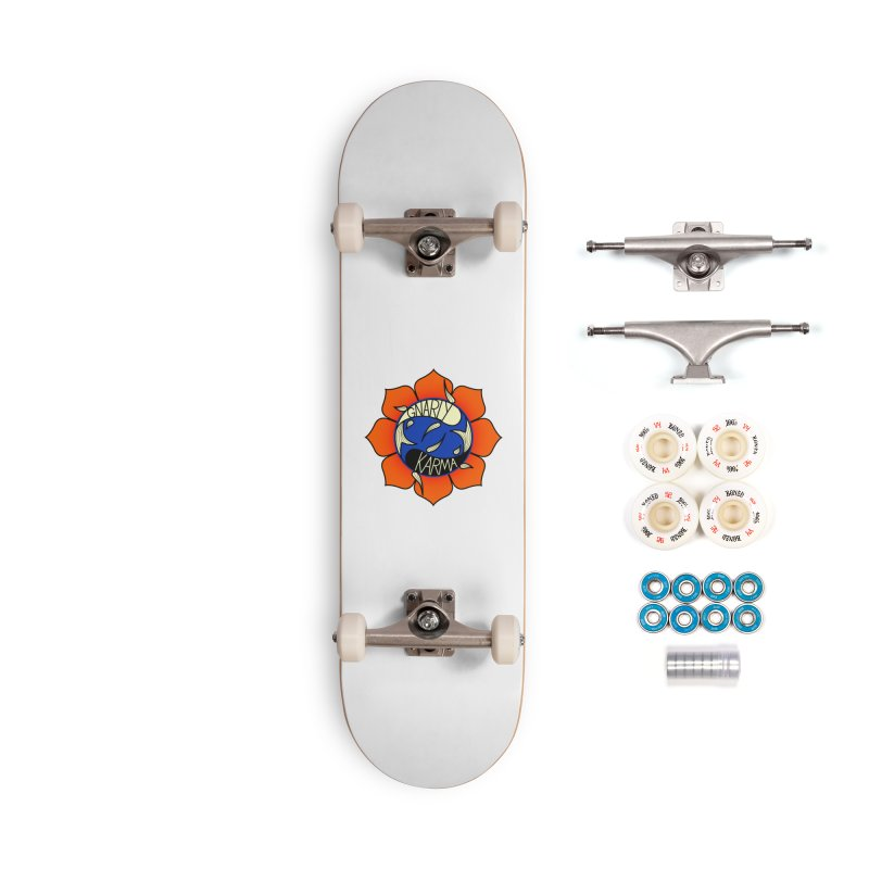 Gnarly Logo on Accessories & Other Merch Accessories Complete - Premium Skateboard by Gnarly Karma's Merch Shop