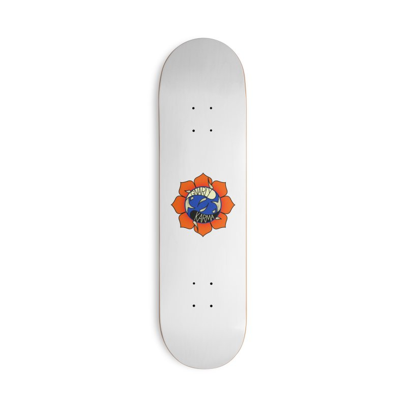 Gnarly Logo on Accessories & Other Merch Accessories Deck Only Skateboard by Gnarly Karma's Merch Shop