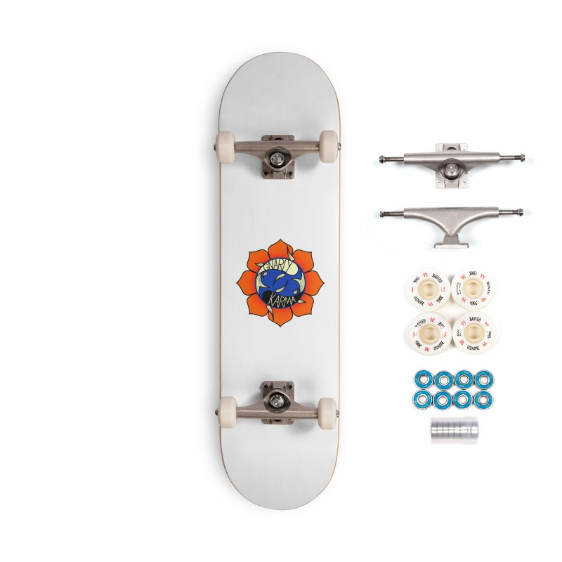 Gnarly Logo on Accessories & Other Merch Accessories Skateboard by Gnarly Karma's Merch Shop