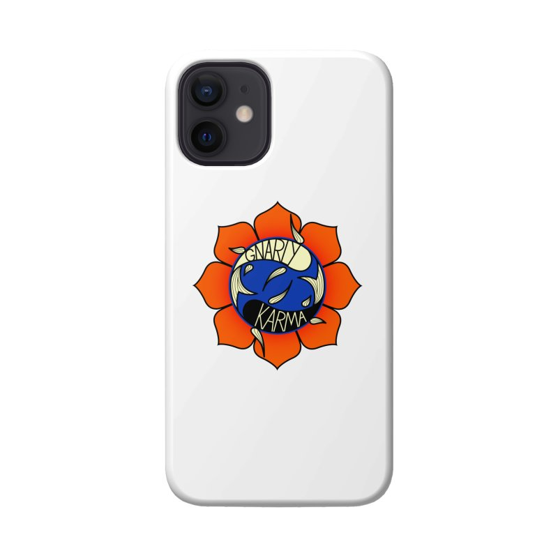 Gnarly Logo on Accessories & Other Merch Accessories Phone Case by Gnarly Karma's Merch Shop