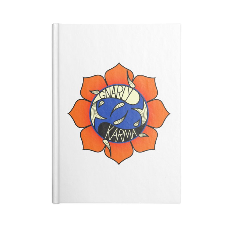 Gnarly Logo on Accessories & Other Merch Accessories Notebook by Gnarly Karma's Merch Shop