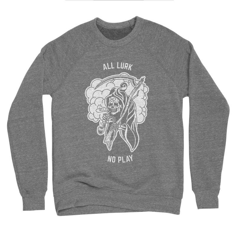 All Lurk Women's Sponge Fleece Sweatshirt by The Gnashed Teethery