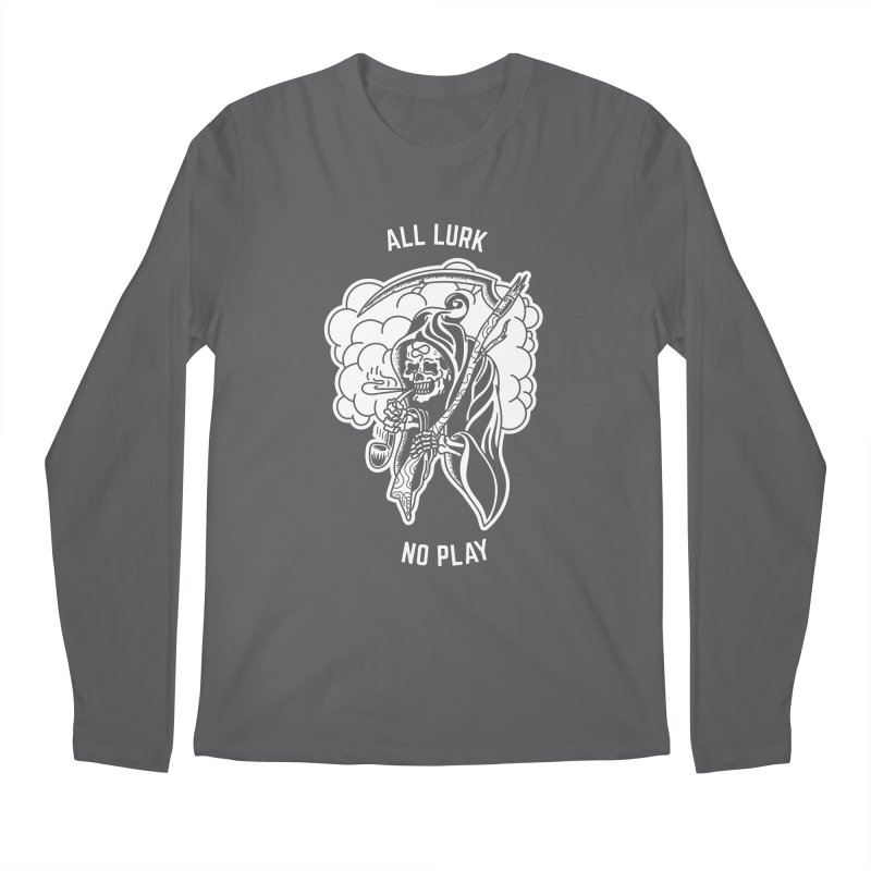 All Lurk Men's Regular Longsleeve T-Shirt by The Gnashed Teethery