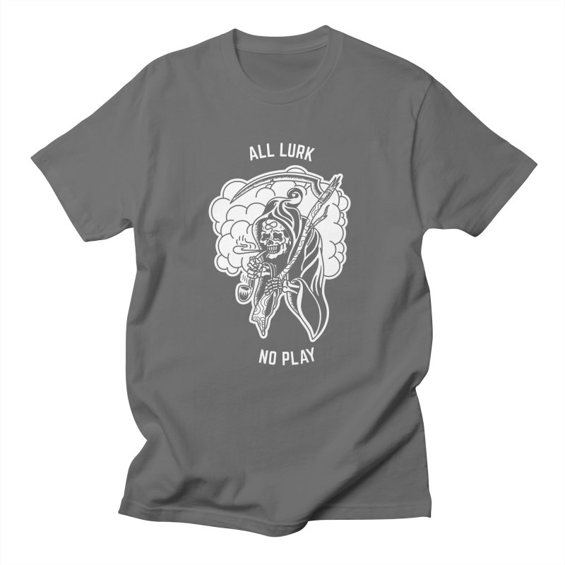 All Lurk Men's T-Shirt by The Gnashed Teethery