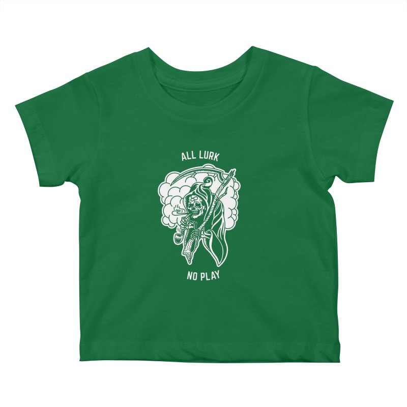 All Lurk Kids Baby T-Shirt by The Gnashed Teethery