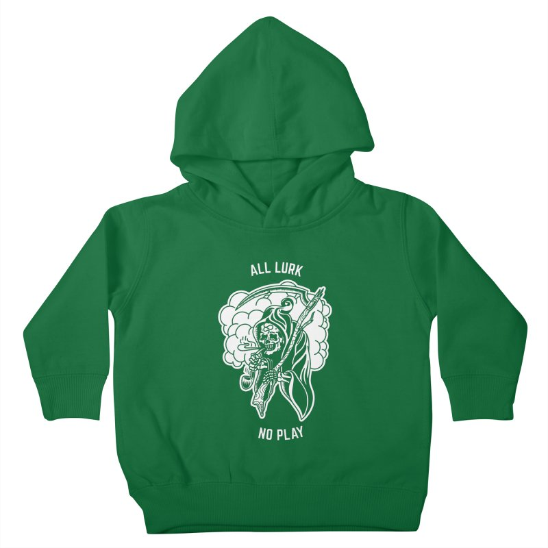 All Lurk Kids Toddler Pullover Hoody by The Gnashed Teethery