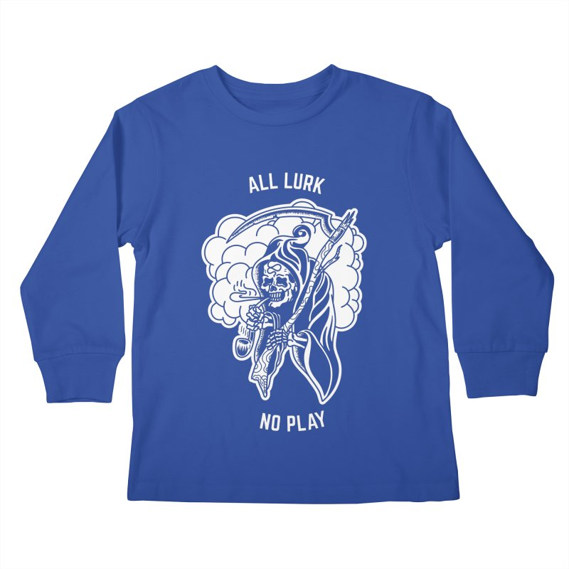 All Lurk Kids Longsleeve T-Shirt by The Gnashed Teethery