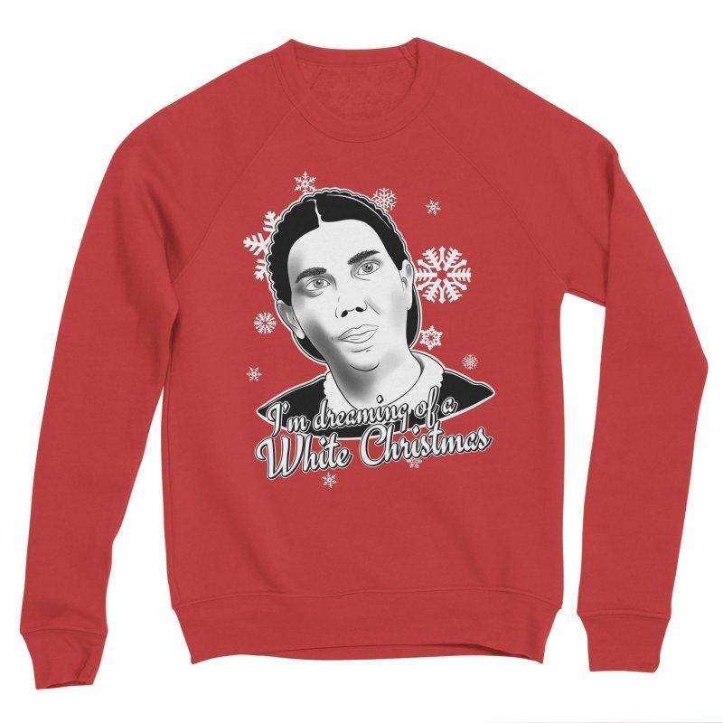 White Christmas Men's Sponge Fleece Sweatshirt by The Gnashed Teethery