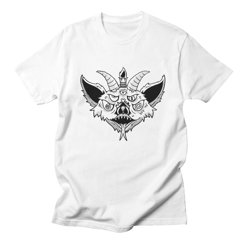 Batphomet Women's Regular Unisex T-Shirt by The Gnashed Teethery